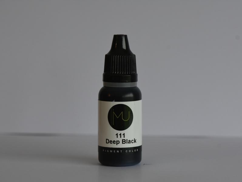Pigment MP 15ml – 111 Deep Black