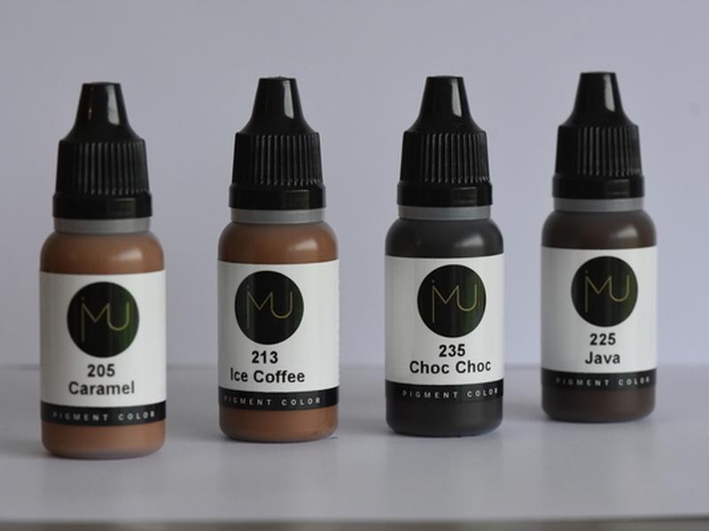 Kit pigments sourcils